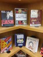 Graphic Novel Memoir Display