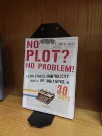 """""""No Plot? No Problem!""""writing book"""